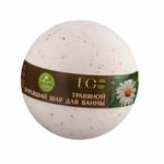 EO Laboratorie Organic bath bomb calming with chamomile and basil