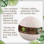 EO Laboratorie Organic bath bomb calming with chamomile and basil