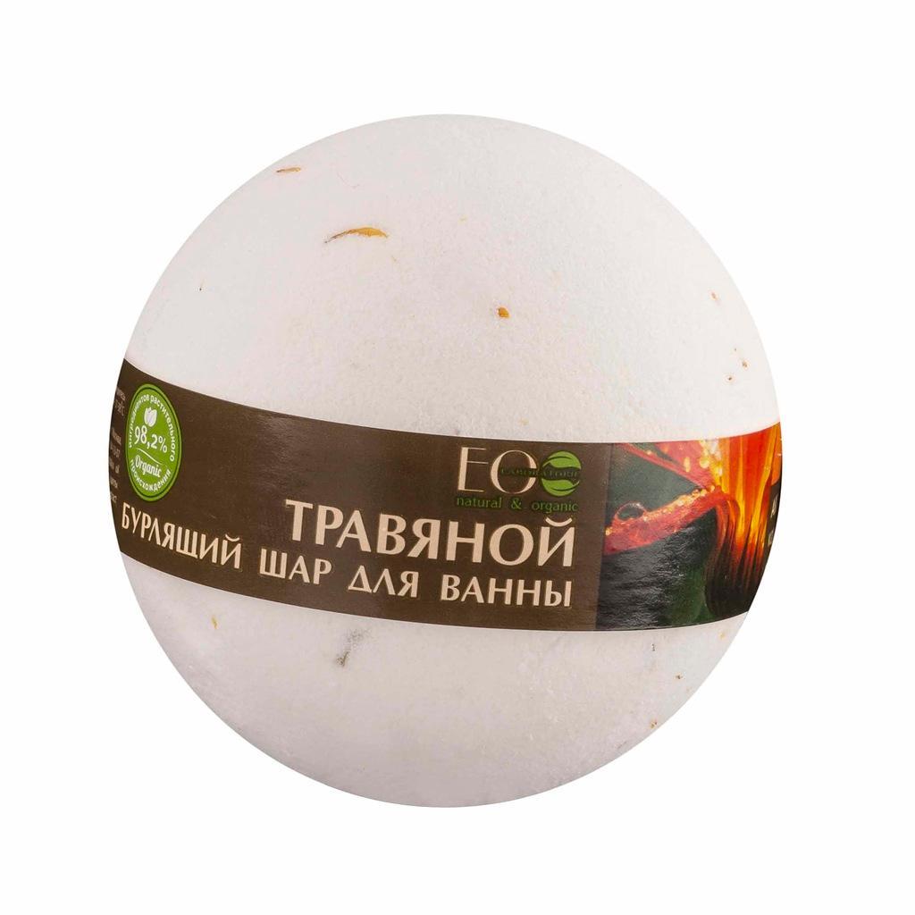 EO Laboratorie Organic bath bomb soothing calendula and green tea
