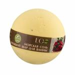 EO Laboratorie Organic bath bomb softening & moisturizing blackcurrant and cranberry
