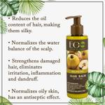 EO Laboratorie Organic balancing balm & conditioner for oily hair & oily scalp anti dandruff & anti grease lasting freshness silicone, parabens & sulfate free