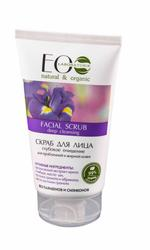 EO Laboratorie Organic Facial scrub, deep cleansing, for oily & acne prone skin, fights blackheads