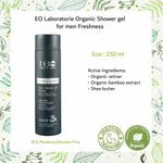 EO Laboratorie Organic Man�s shower gel cooling freshness effect vetiver and bamboo