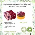 EO Laboratorie Organic Macadamia oil body butter