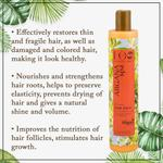 EO Laboratorie Organic Argan oil conditioner & balm restoring & repairing damaged and colored hair deep nourishing and shine
