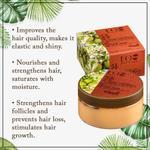 EO Laboratorie Organic Argan oil Hair mask, deep nourishing & shine, Restoring & repairing extremely damaged colored hair