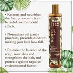 EO Laboratorie Organic balancing shampoo restoration and strengthening for hair oily roots and dry ends