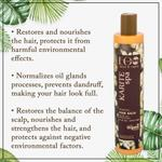 EO Laboratorie Organic balancing balm restoration and strengthening for hair oily roots and dry ends