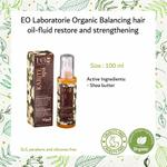 EO Laboratorie Organic Balancing hair oil-fluide restoration and strengthening for hair oily roots and dry ends