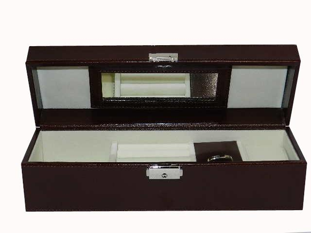 Laveri Genuine Leather Designer New Collection 03 Watch Case And Jewellery Box