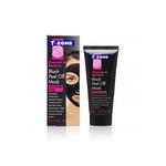 T-Zone Charcoal & Bamboo Charcoal Black Peel Off Mask 50ml
