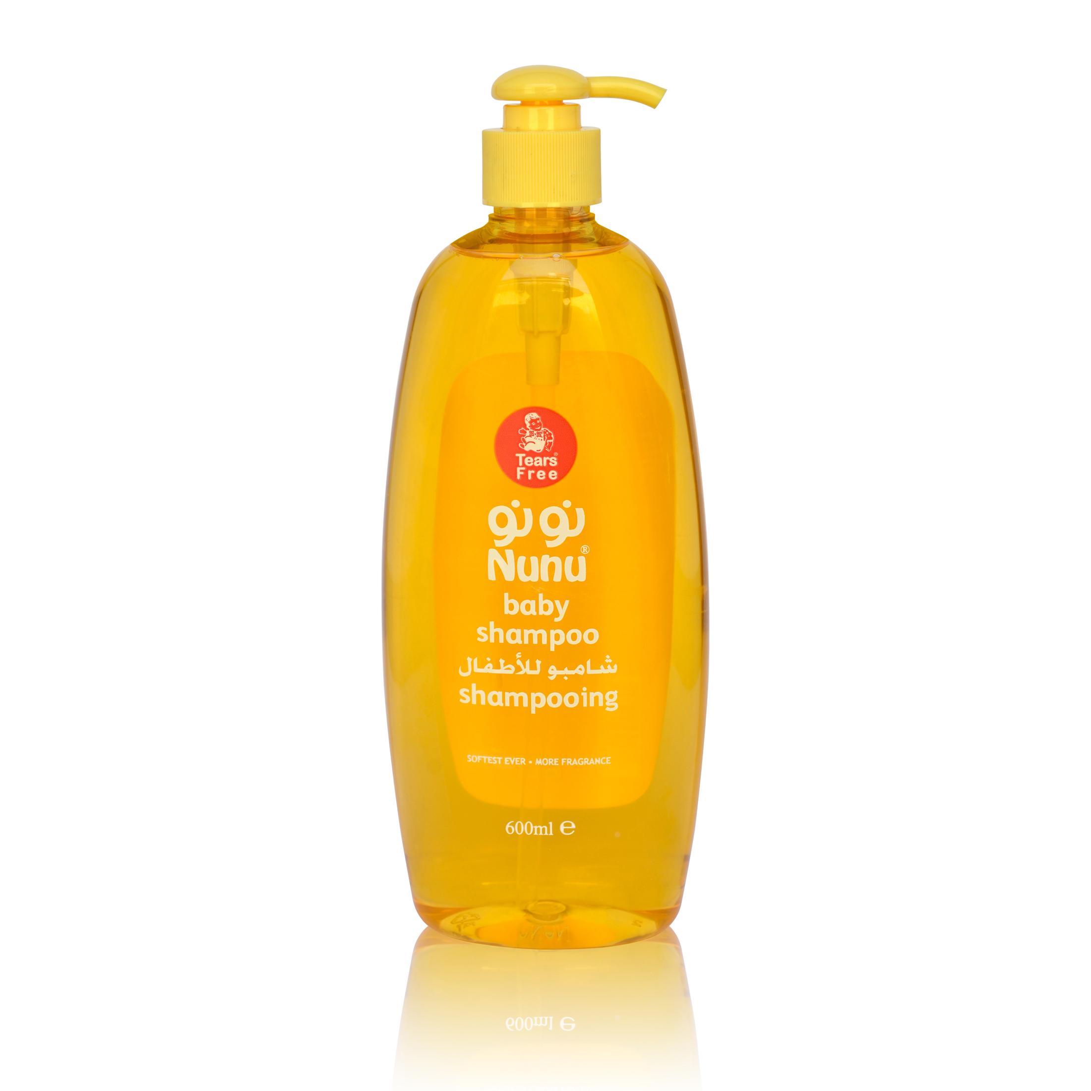 Nunu Baby Shampoo-600 Ml