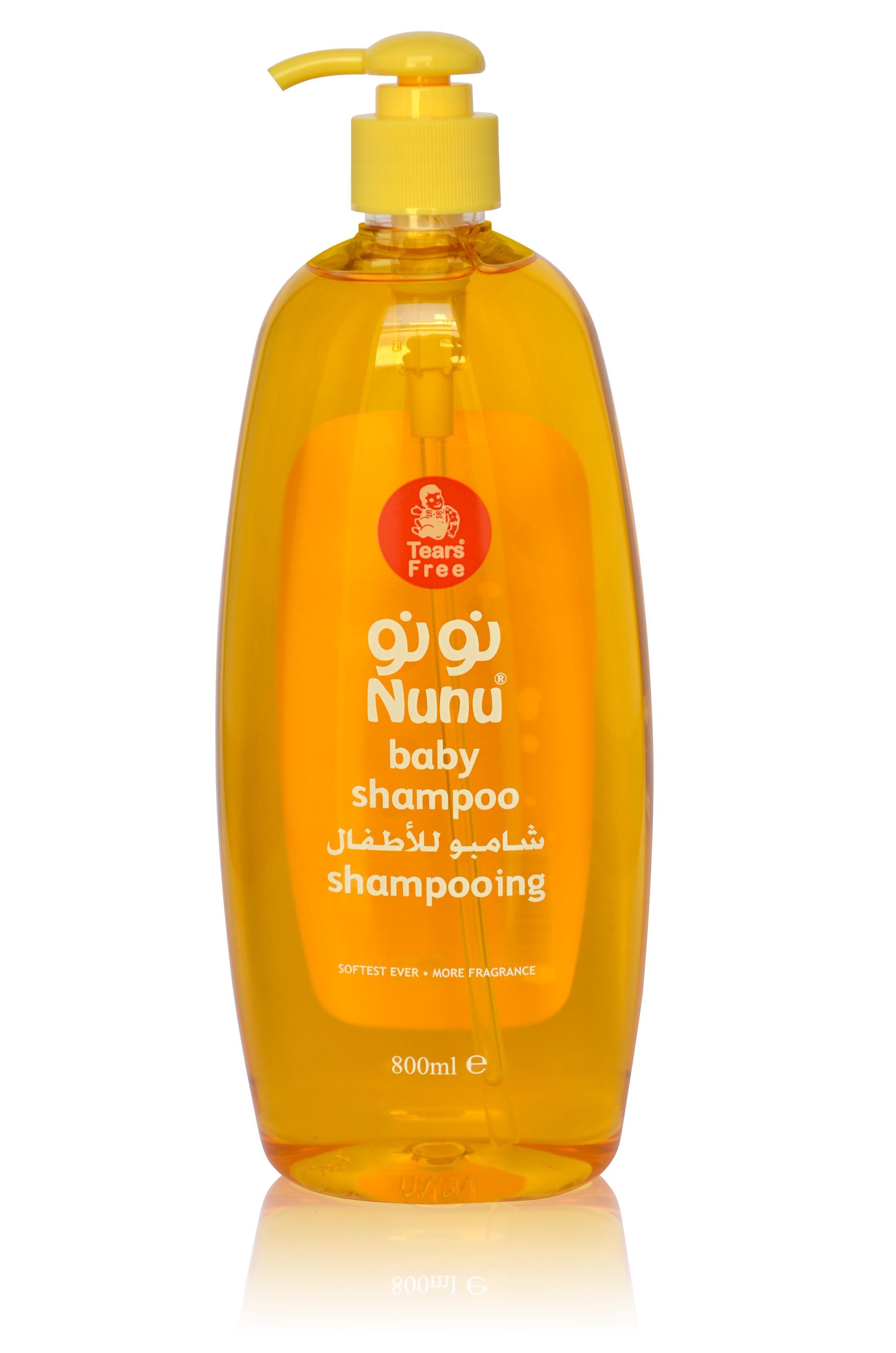 Nunu Baby Shampoo Pump-800 Ml