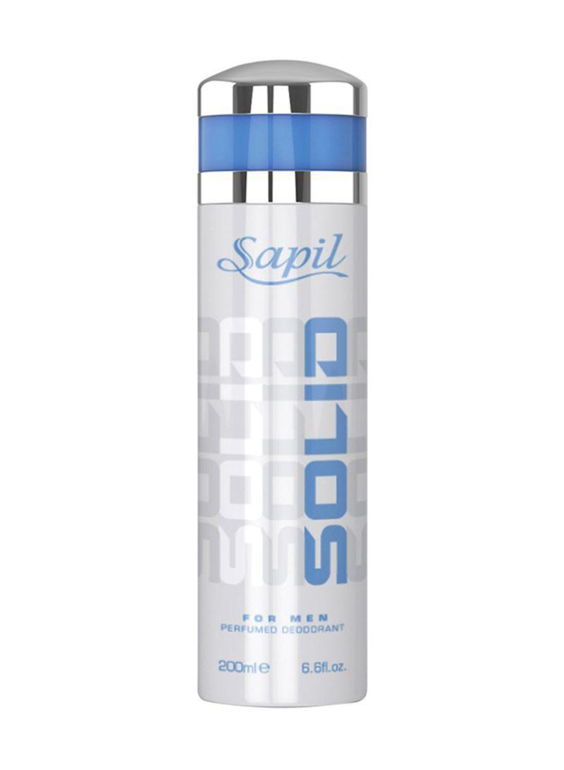 Swiss Arabian Sapil Solid For Men Deo Spray For Unisex 200ml