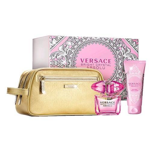 Versace Bright Crystal Absolu For Women Eau De Parfum 90ML Set