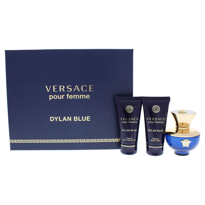 Versace Pour Femme Dylan Blue For Women Eau De Parfum 50ML Set