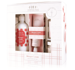 Farmhouse Fresh Whoopie Deluxe Gift Box. Includes Full Size Whoopie Pump & Hand Cream Tube, Travel Size Whoopie Body Wash & Whoopie Travel Candle