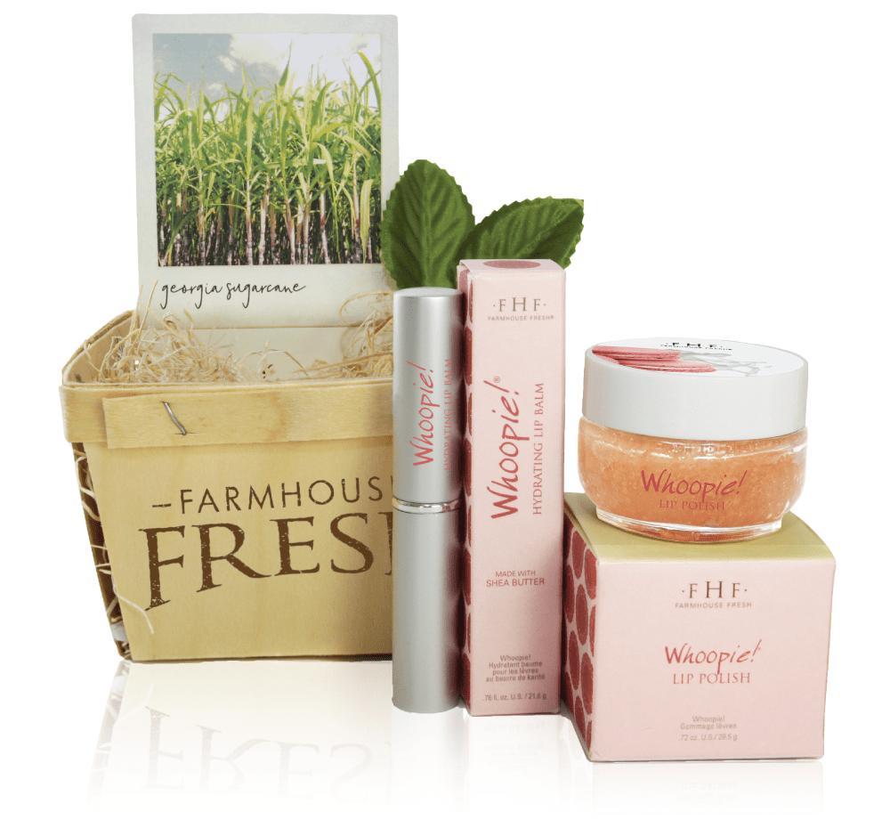 Farmhouse Fresh Whoopie Lip Gift Basket Set