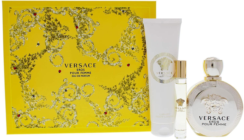 Versace Eros Pour Femme For Women Eau De Parfum 100ML Set