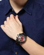 Ferrari Men's Rubber Chronograph Watch 830341
