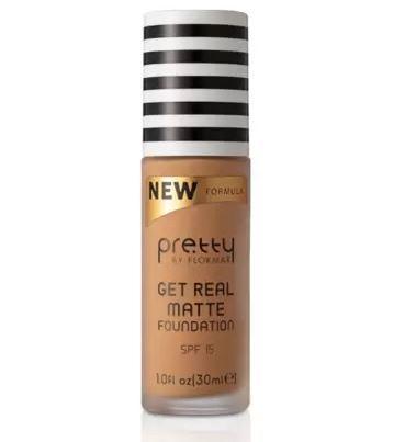 Pretty by flormar Get Real Matte Foundation Golden Beige 009