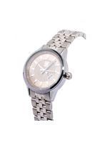 Louis Cardin Stainless Steel Silver Grey Butterfly Buckle Watch For Women 8823L