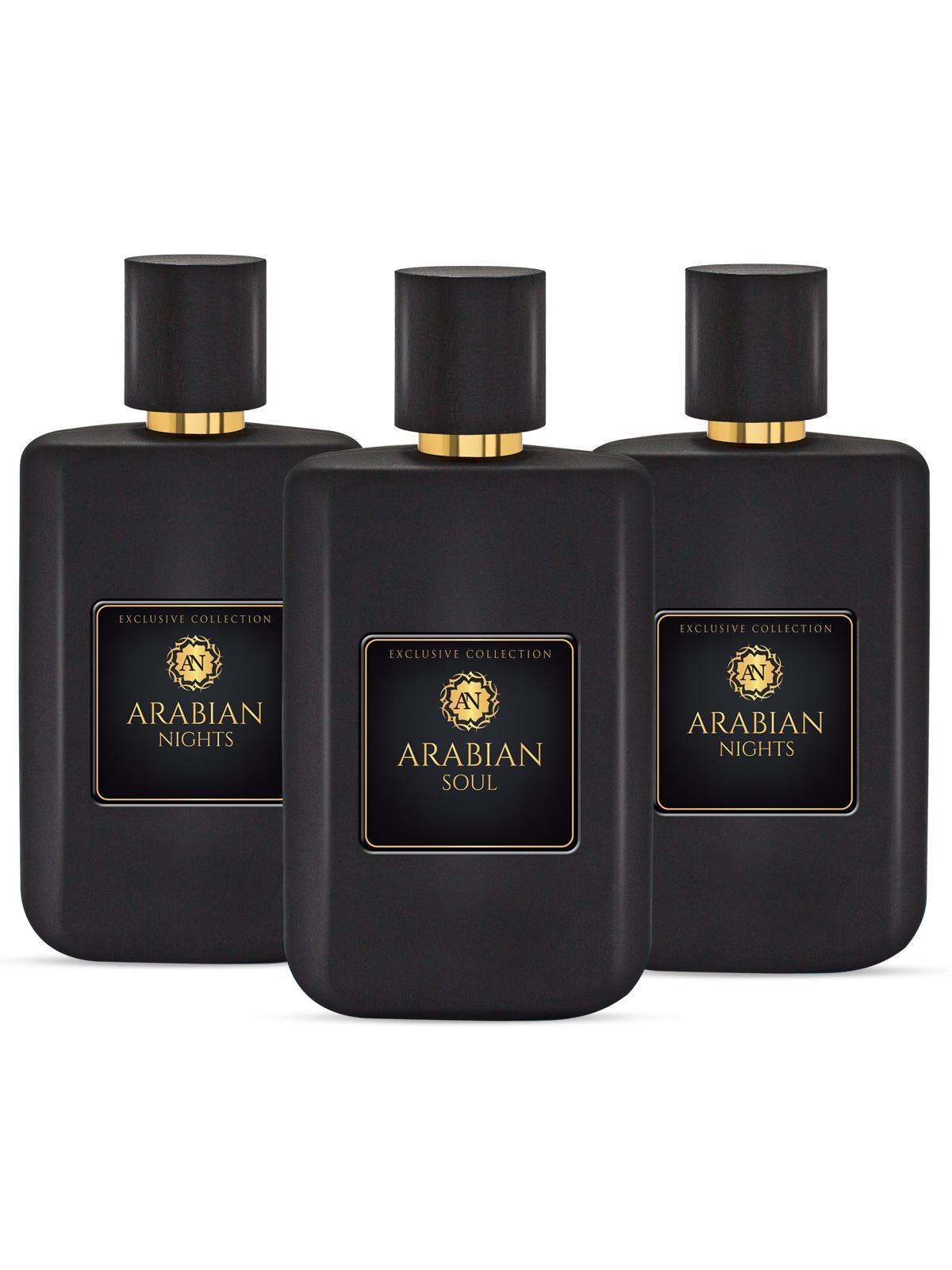 Arabian Eagle Dreams+Soul+Nights For Unisex Eau De Parfum 50ML Set