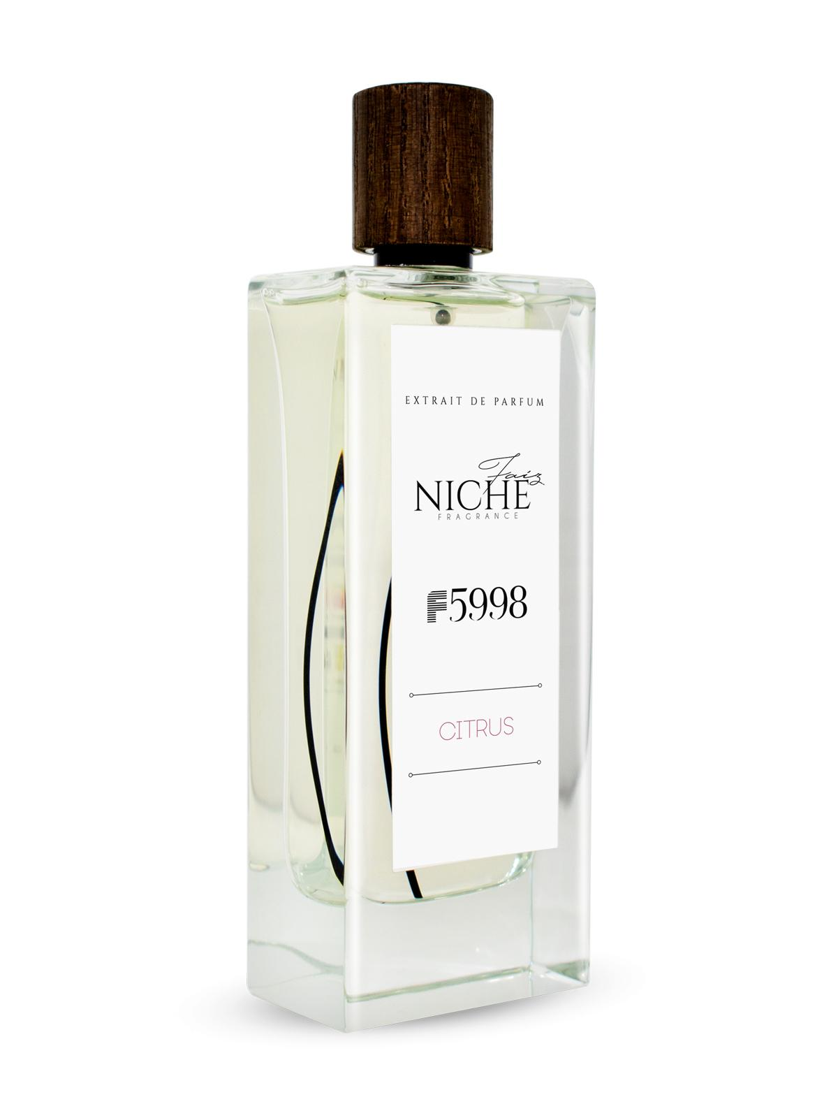 Faiz Niche Collection Citrus F5998 Extrait De Parfum 80ML