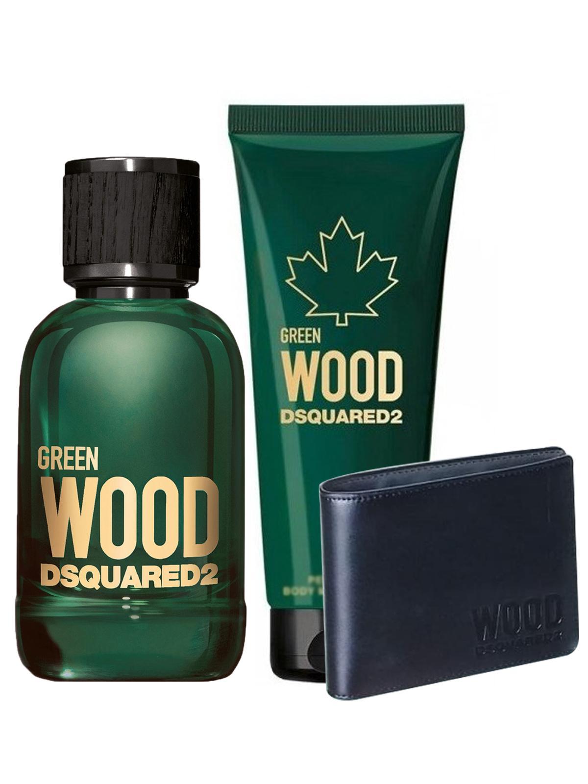 Dsquared2 Wood Green for Men Eau De Toilette 100ML Set