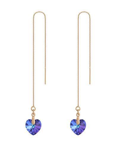 FR Accessories Elegant Heart Shape Earrings Earrings 8