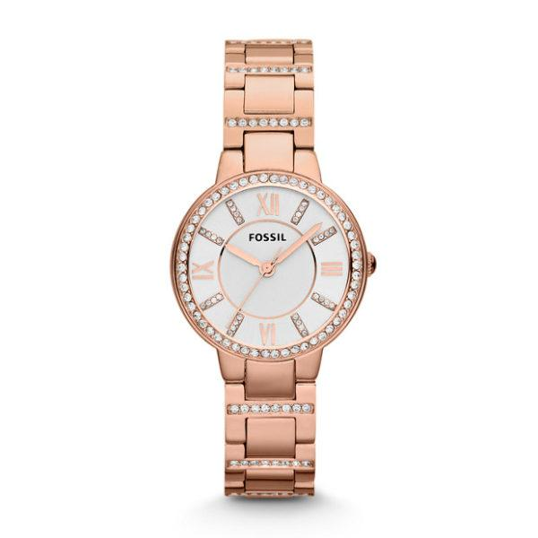 Fossil Virginia Women Stainless Steel Rose Gold(ES3284)