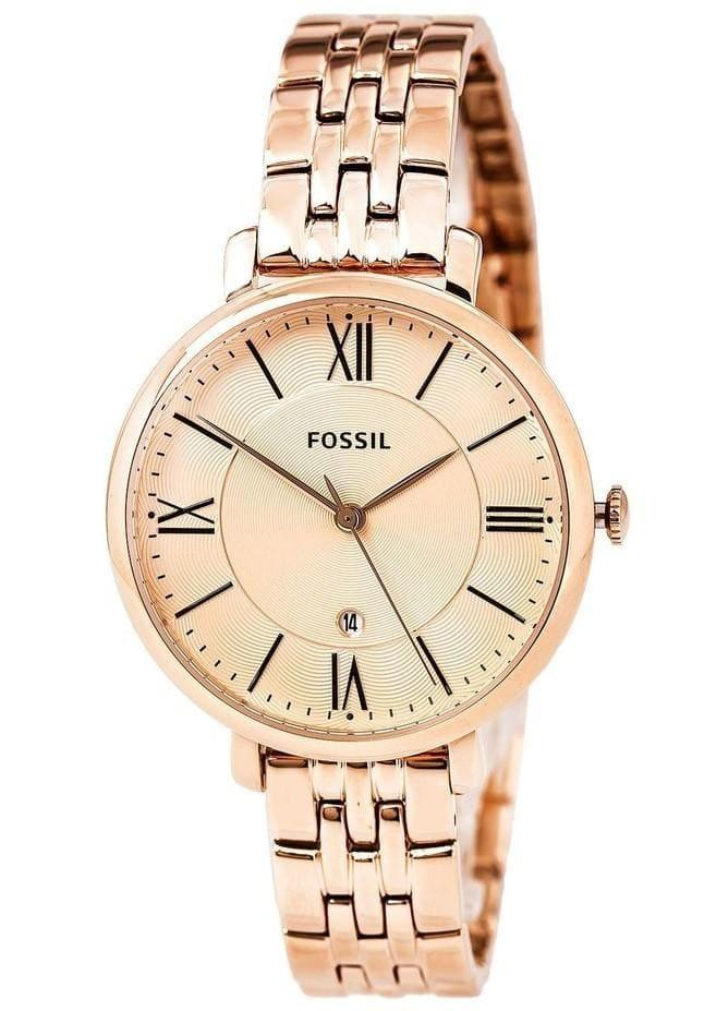 Fossil Jacqueline Women Stainless Steel Rose Gold(ES3435)