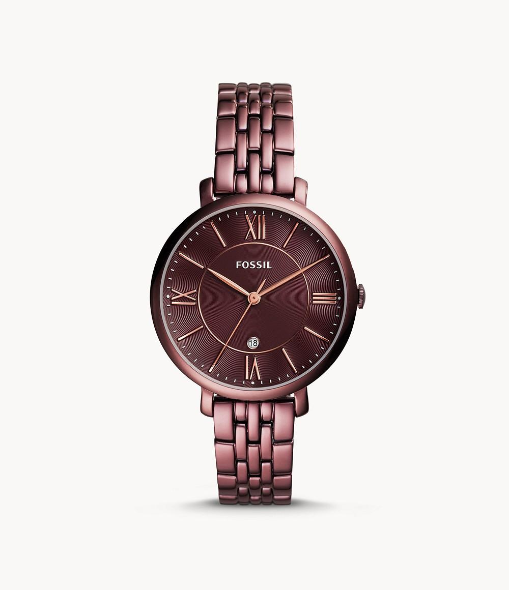 Fossil Jacqueline Women Stainless Steel Red(ES4100)
