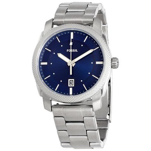 Fossil Machine Men Stainless Steel Silver(FS5340)