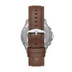 Fossil Men's Monty Chronograph Brown Leather Watch FS5638