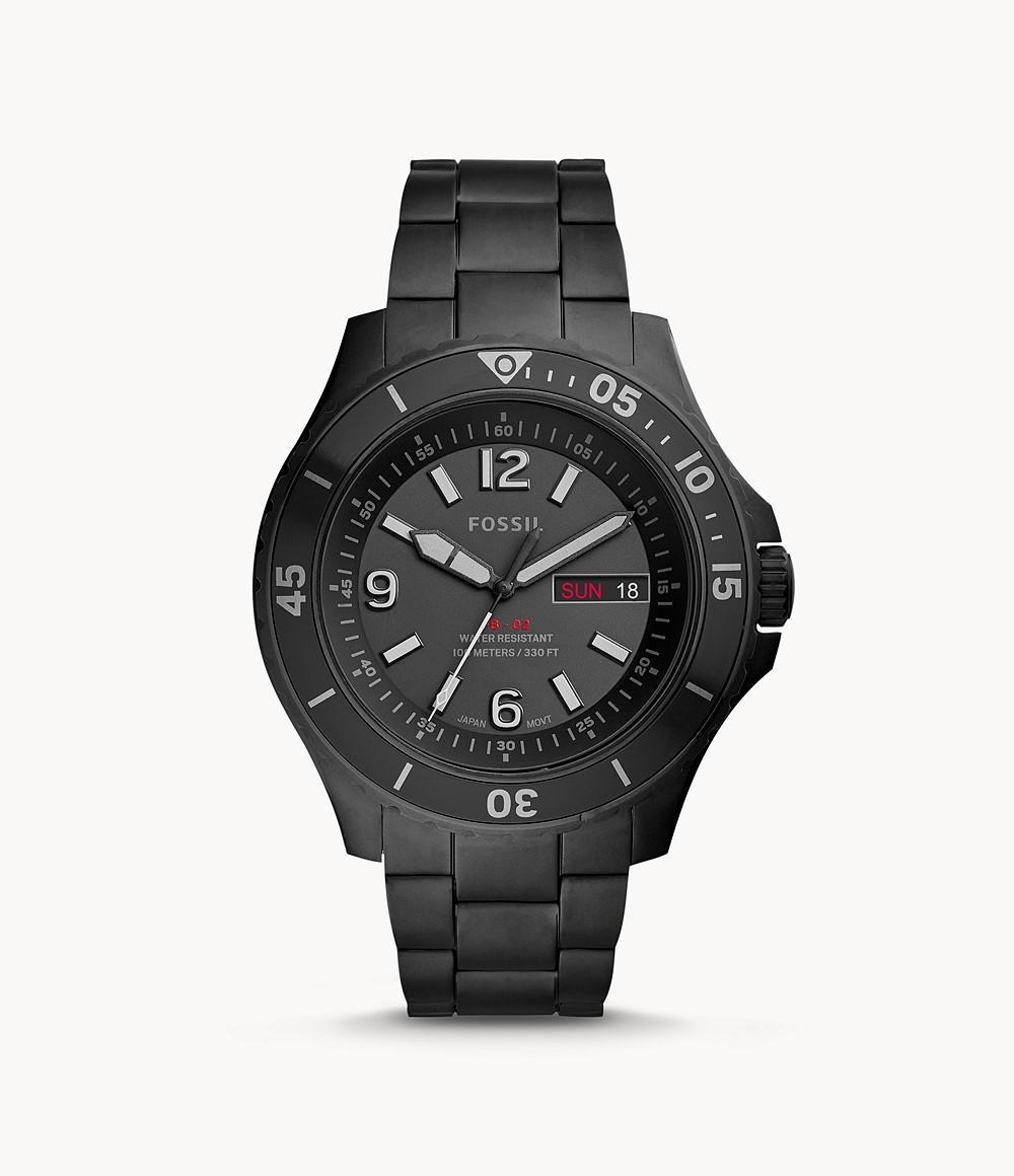Fossil Men's FB-02 Stainless Steel Casual Quartz Watch FS5688