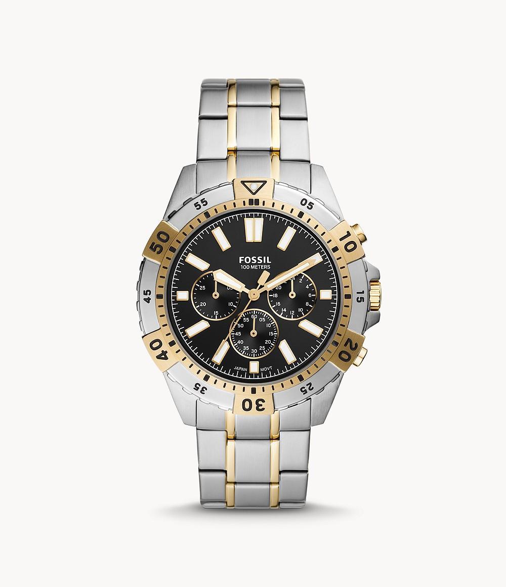 Fossil Men's Garrett Chronograph Stainless Steel Watch FS5771