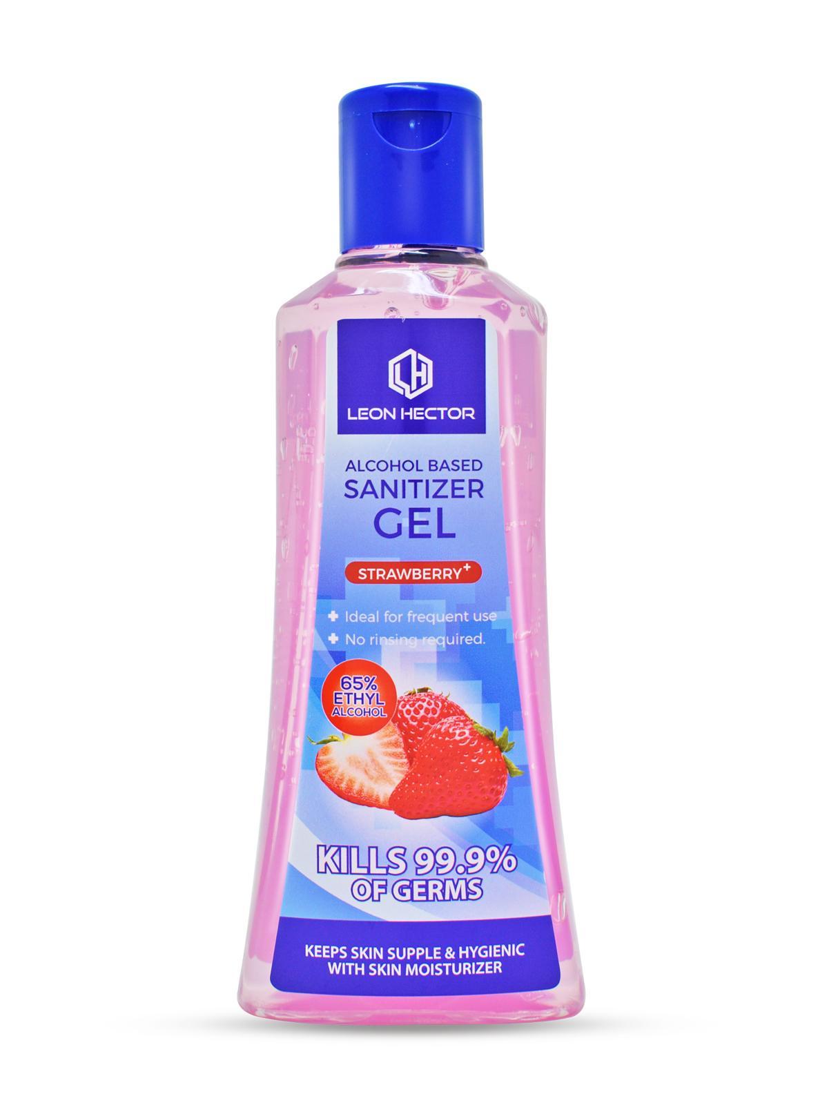 Leon Hector Sanitizer Gel Strawberry Plus 200ML