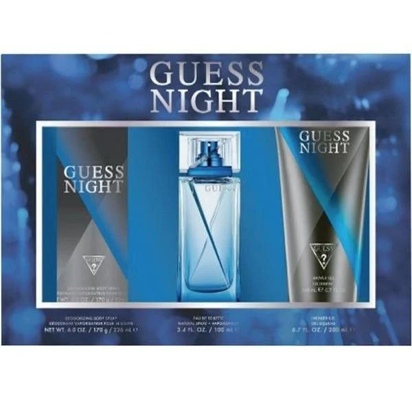 Guess Night For Men Eau De Toilette 100ML Set