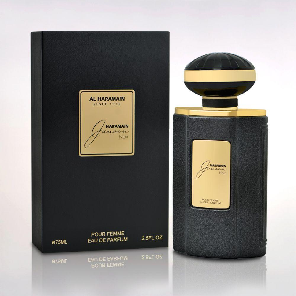AL Haramain Junoon Noir Spray 75ML