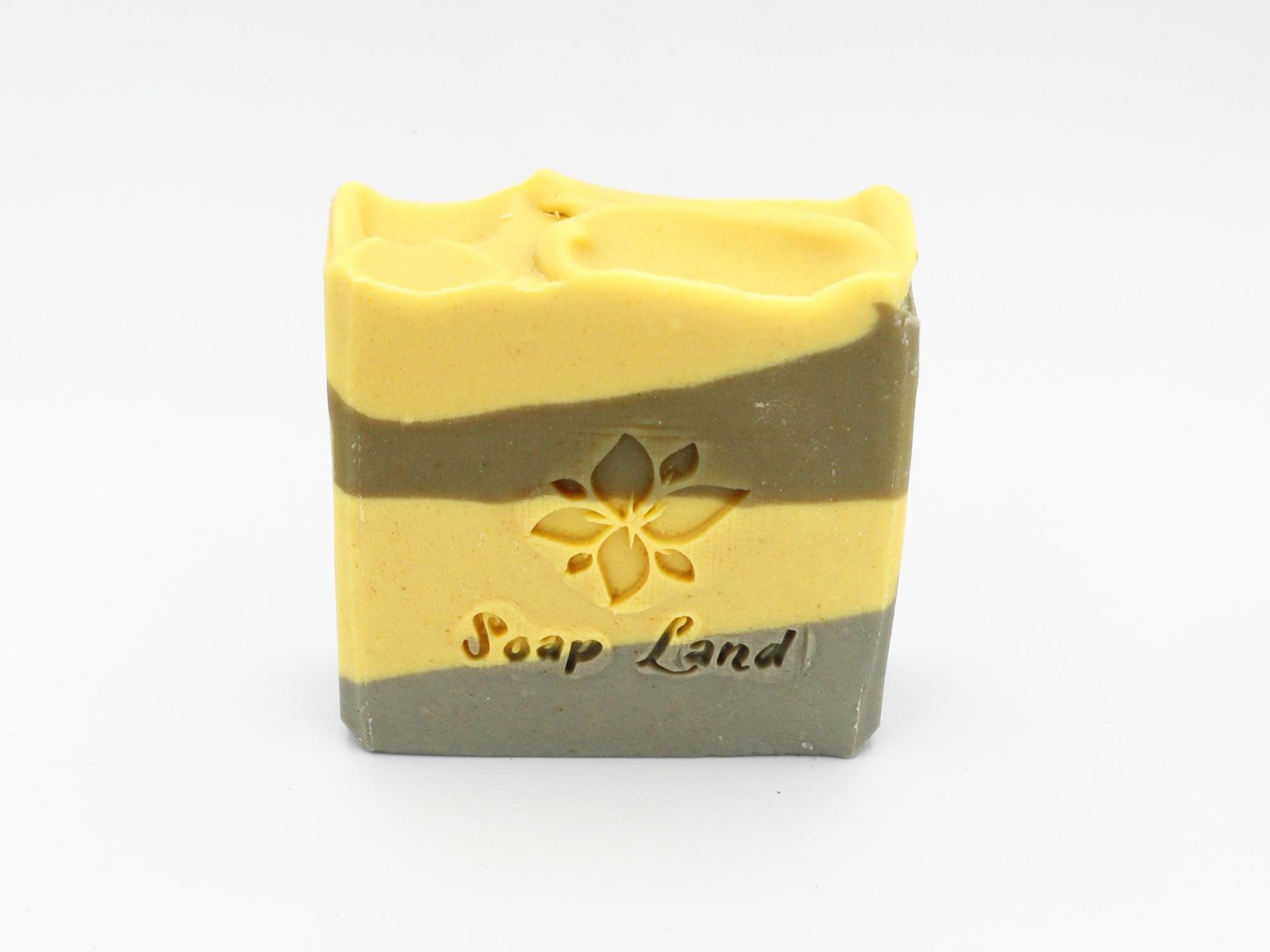 Soap Land Lemongrass Soap with Goat Milk