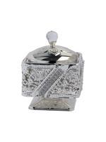 Silver Handled Burner Bukhoor Set