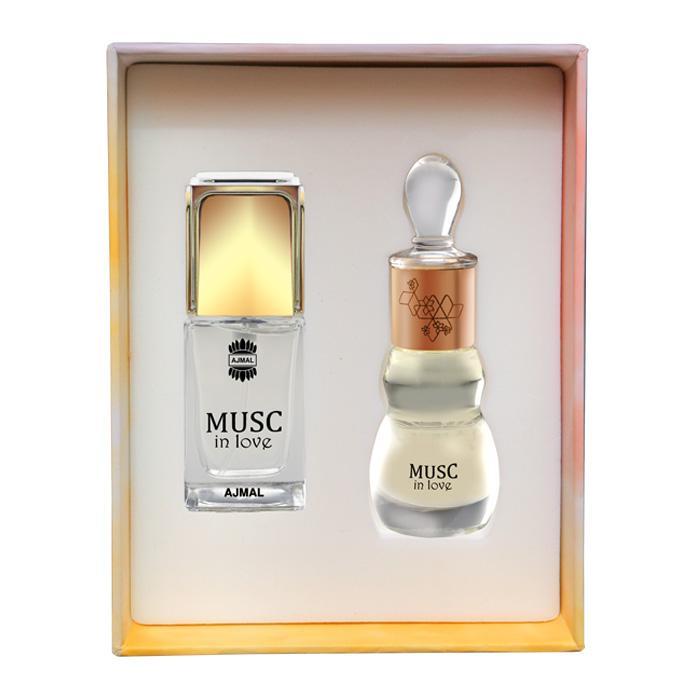 Ajmal Perfumes Musc in love Set 14ml & 12ml