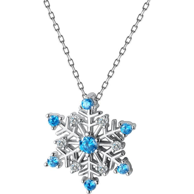 FR Accessories Magical Snowflake 925 Silver Necklace Necklace 6