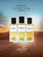 Faiz Niche Premium Oriental Collection for unisex eau de parfum 60ML of 3 Perfume Set