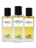 Faiz Niche Premium Oriental Collection for unisex eau de parfum 60ML*3 Set