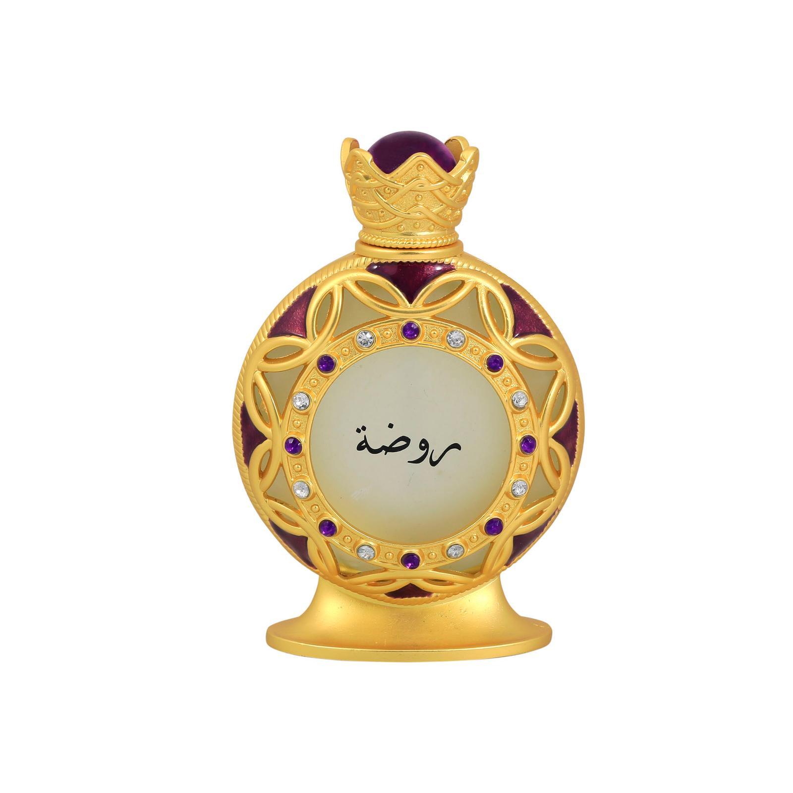 Khadlaj Rawda Gold Perfume Oil 35ml For Unisex