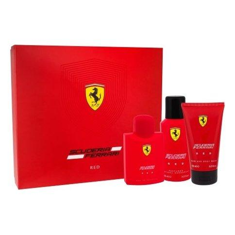 Ferrari Scuderia Red For Men Eau De Toilette 125ML Set
