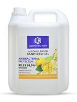 Leon hector Sanitizer Gel Lemon 5Ltr