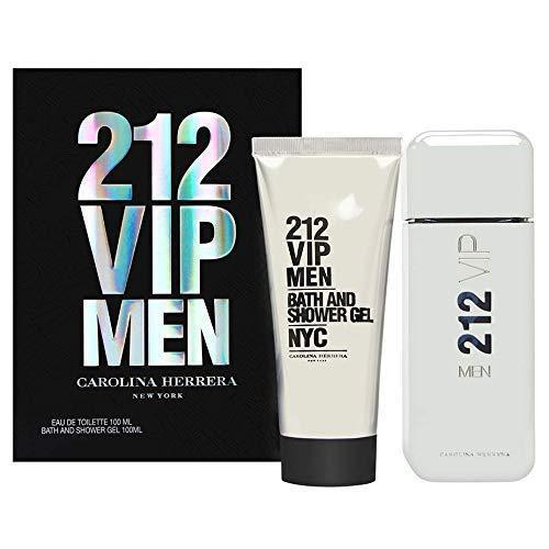 Carolina Herrera 212 Vip Men Eau De Toilette 100ml Travel Set